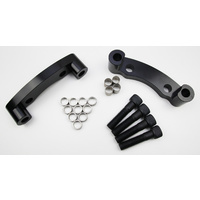 Holden VT VU VX VY VZ Commodore FRONT Brembo Big Brake Brackets/Adaptors - to fit Cadillac CTS-V 6 Piston front calipers