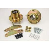 Holden HK HT HG to AU2 298mm Brake Upgrade Hubs and Bracket Adaptors KIT 5X120.65 PCD