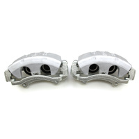 Ford Falcon AU2 AU3 & FPV XR6 XR8 322mm Brake Upgrade Conversion Calipers (Silver)