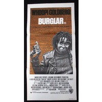 Burglar (1987) Daybill Movie Poster
