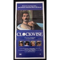 Clockwise (1986) Daybill Movie Poster