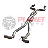 HSV VF Gen-F R8 & GTS (Sedan & Wagon) Exhaust Centre Pipe (without O2 Sensor Bungs/Holes)