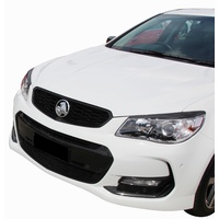 Holden VF Commodore Headlight Eyelids/Eyebrows (Gloss Black)