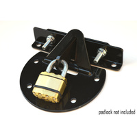 Roller Door Anchor Lock (Black)