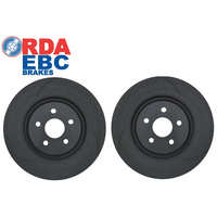 HSV E-Series (E1, E2, E3) Front Brake Discs 365mm DIMPLED & SLOTTED (Pair) (RDA7374D)