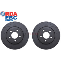 RDA7934D Brake Disc Rotors (Pair) 322mm x 28mm (Suit BA-FG XR6T, G6E Turbo and XR8 Models)
