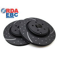 HSV Gen-F Rear Brake Discs 367mm DIMPLED & SLOTTED (Pair) (RDA8485D) R8 CLUBSPORT, MALOO, SENATOR