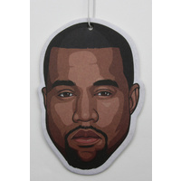 Kanye West Air Freshener (Scent: Grape) - Smell the Fun