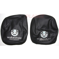 Walkinshaw Performance Leather Headrest Covers for Holden VE Commodore (Pair)