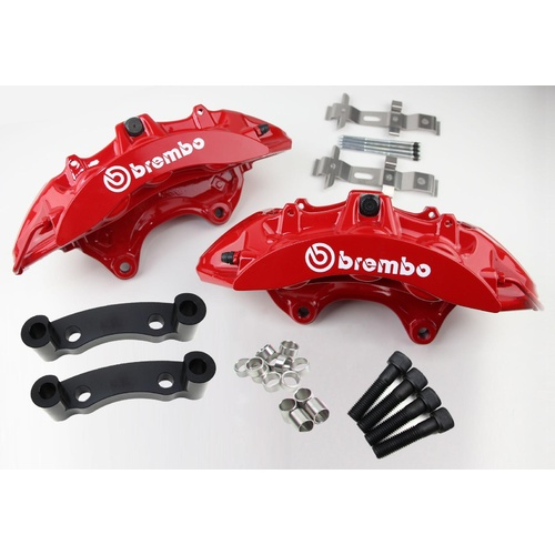 Holden VT VU VX VY VZ Commodore RED Brembo Big Brake Kit 6-Piston Front (No Brake Pads)