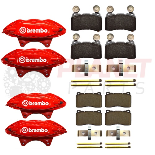 Holden VF Commodore Front and Rear Brembo Brake Upgrade Kit (inc. Brake Pads)