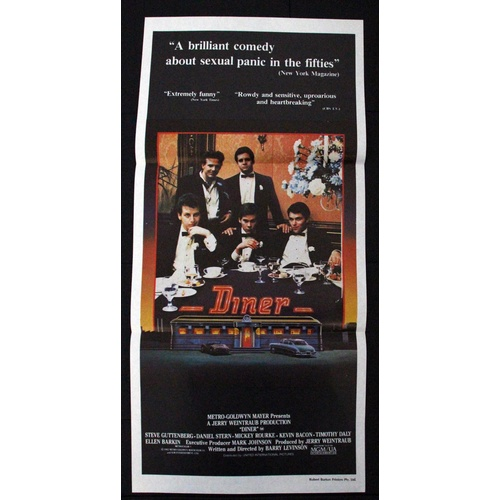 Diner (1982) Daybill Movie Poster