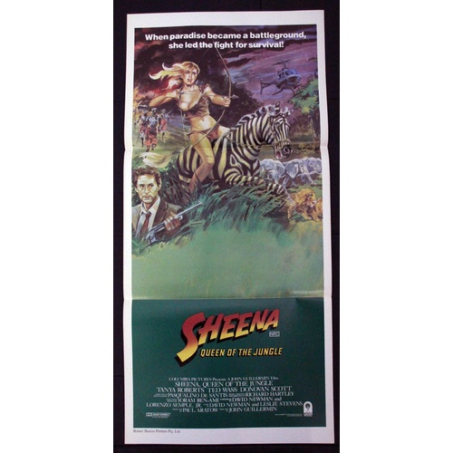 Sheena: Queen of the Jungle (1984) Daybill Movie Poster