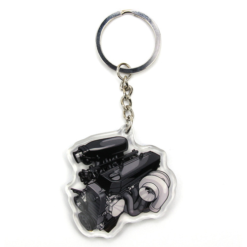 RB30 Turbo Keychain