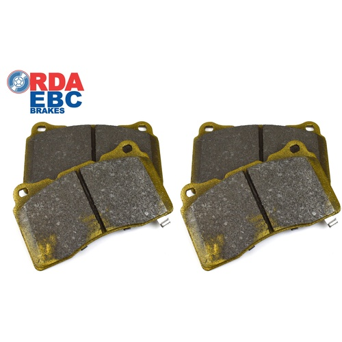 RDA Brake Pads to suit Holden VE-VF Commodore Redline Edition w/ Front Brembo Calipers (RDX2161SM)